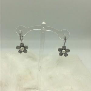 ❤️🌟🎀🌺sterling silver pearl earrings